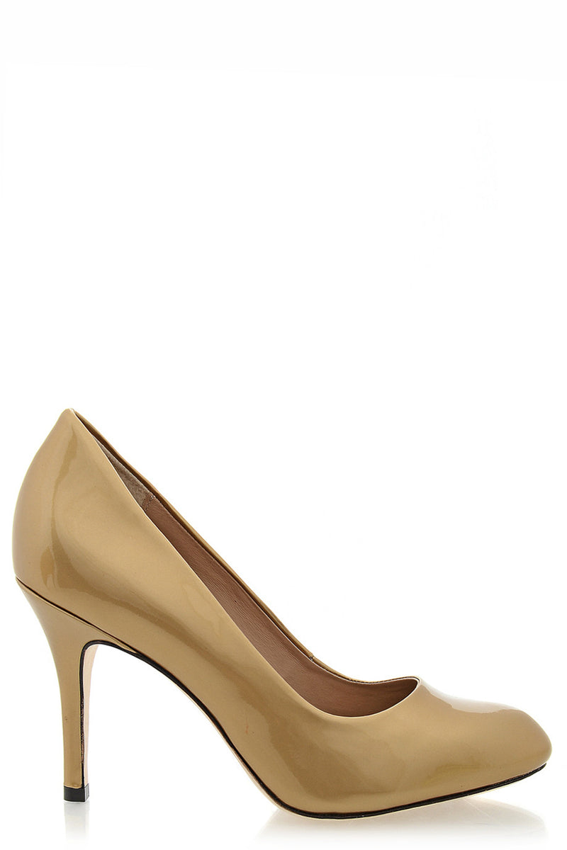 ALDITH Patent Desert Leather Pumps