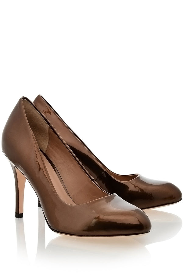 ALDITH Pearl Feno Patent Leather Pumps