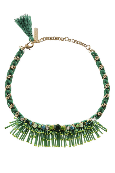 ESMERALDA Green Crystal Necklace