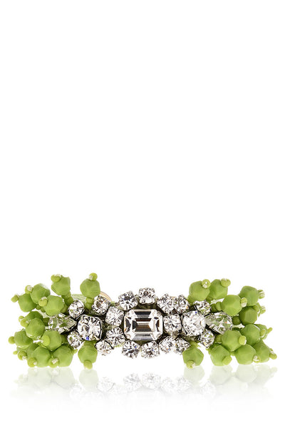 PISTACHIO Crystal Beaded Bracelet