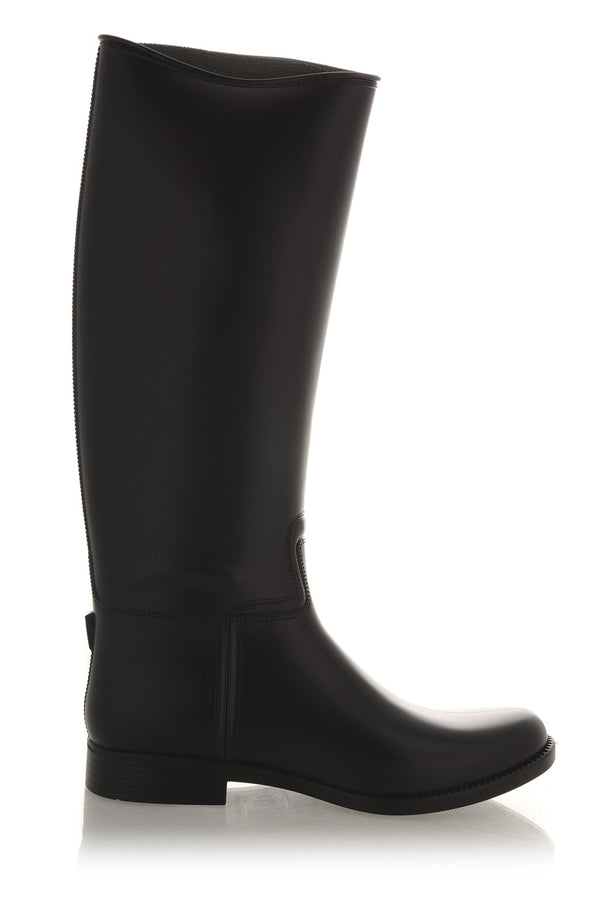 RIDER Black Rubber Boots