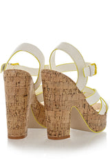 TERSINA White Sandals