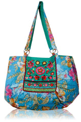 MANOUCHE Blue Flower Tote