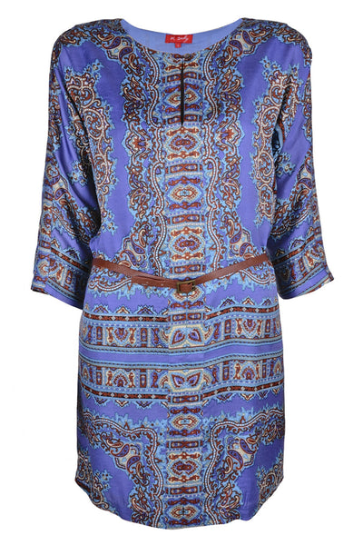 AGRAIRE Printed Viscose Dress
