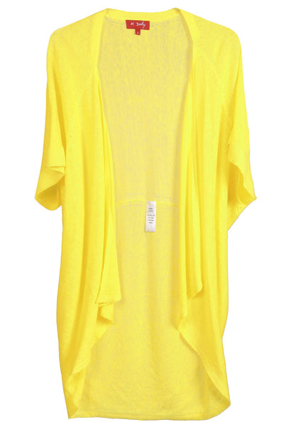 LUANA Yellow Batwing Cardigan