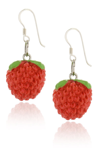 STRAWBERRY Red Earrings