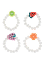 RIGÓ SUMMER FRUITS Rings with Tiny Pearls