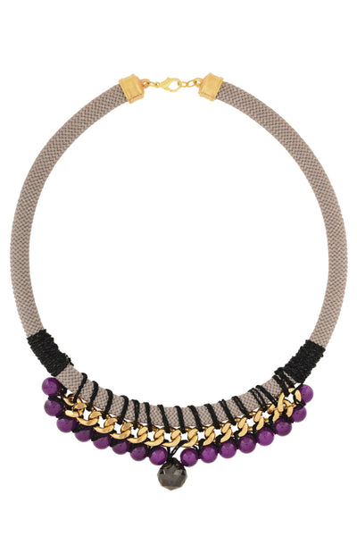 MISS VIOLET Pearl Chain Necklace
