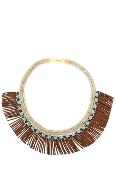 ARCHANA Indian Leather Necklace