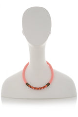 MAGGEE Neon Pink Necklace