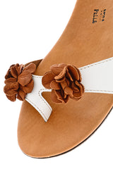 LILLY VACCH White Sandals