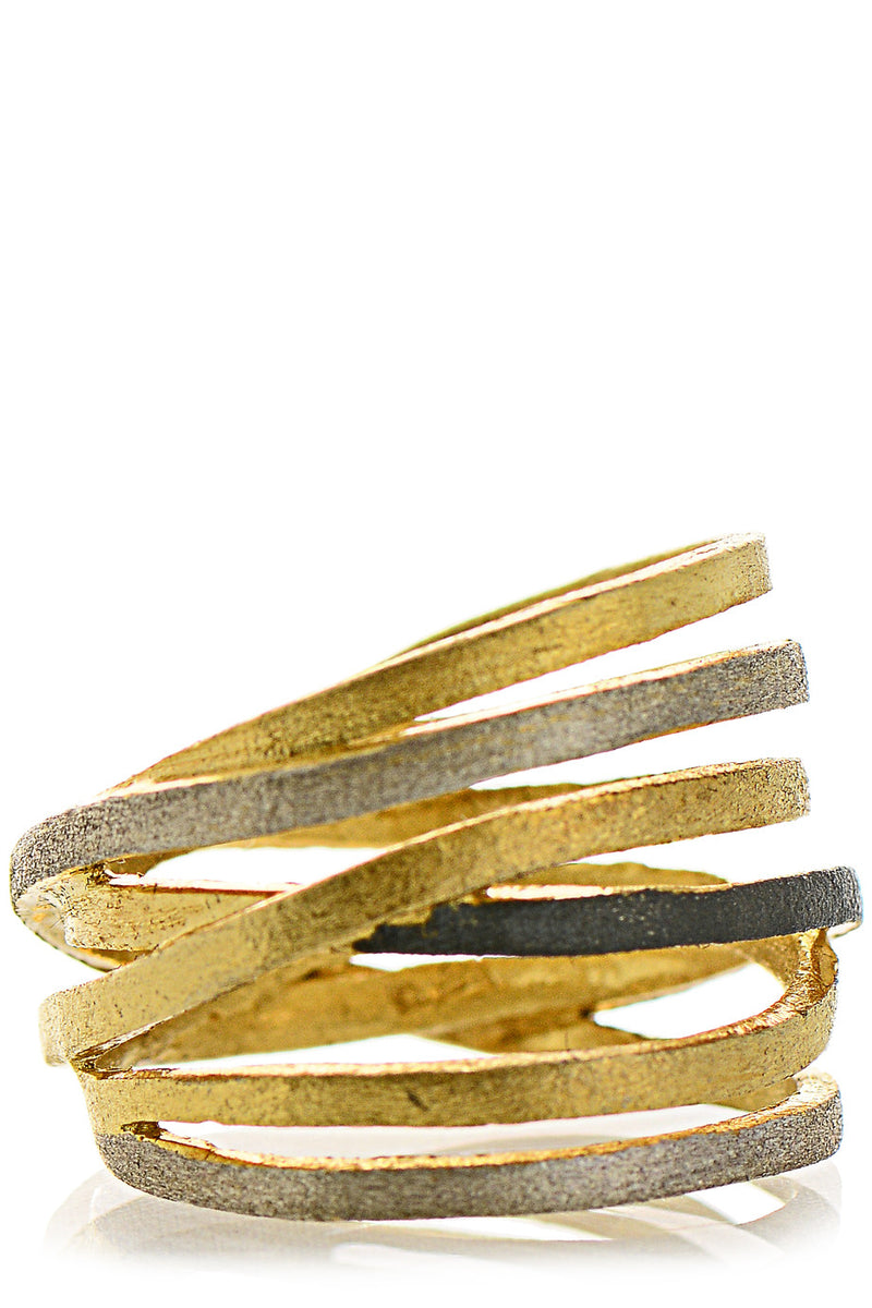 BERENIKE Gold Silver Ring