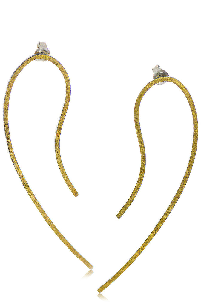 EDITH Gold and Metal Earrings