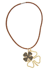 LUCKY ME Tortoise Koniac Colar Necklace