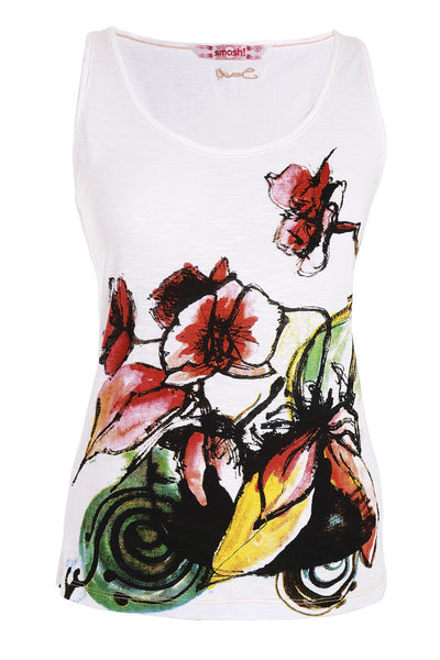 C-PIR Printed Tank Top