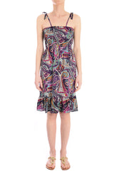 FRESA Purple Printed Dress