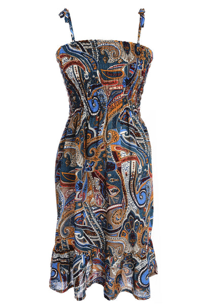 FRESA Sleeveless Printed Dress