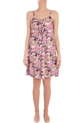 NUSELA Printed Sleeveless Dress