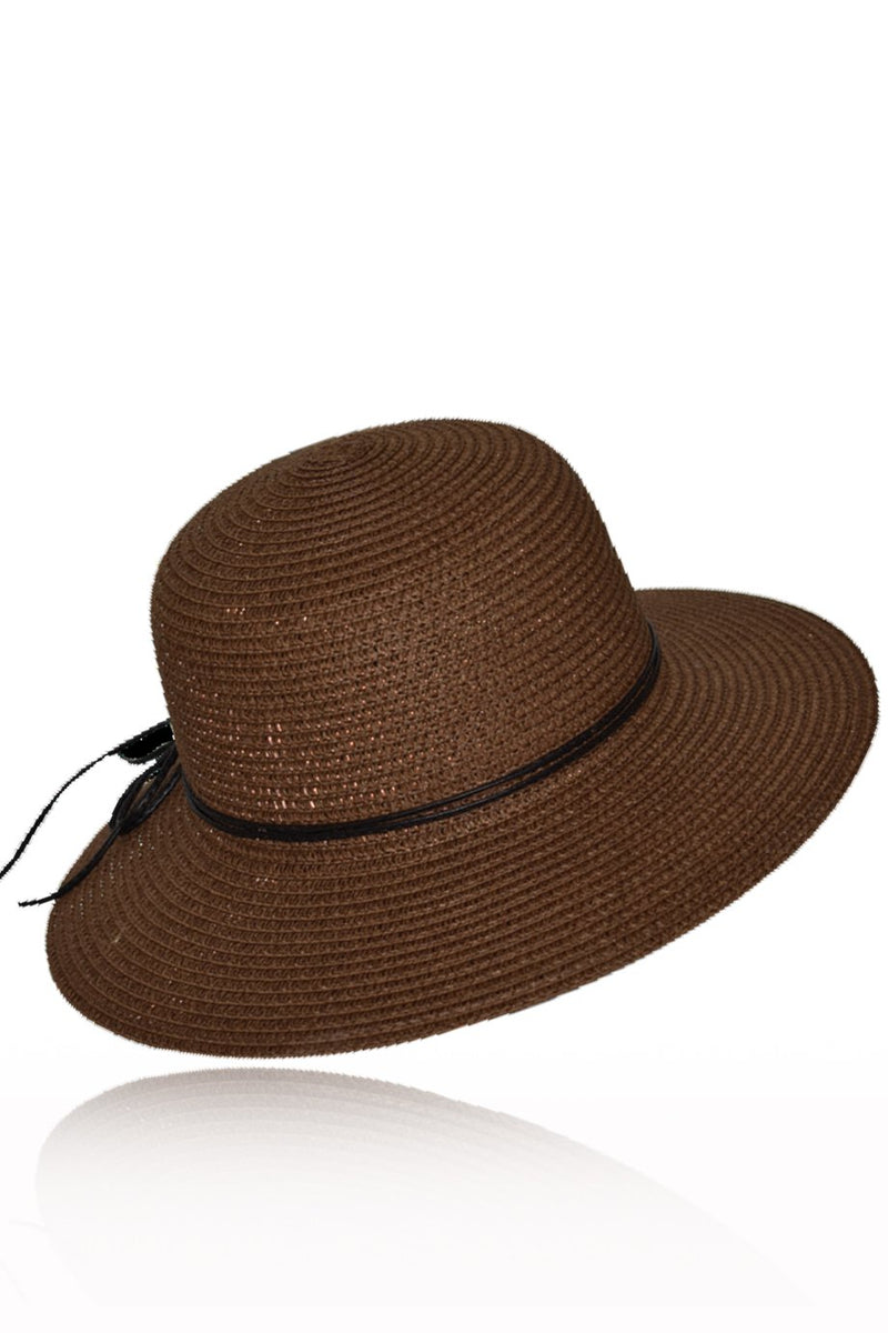 Kitaely Brown Beach Hat