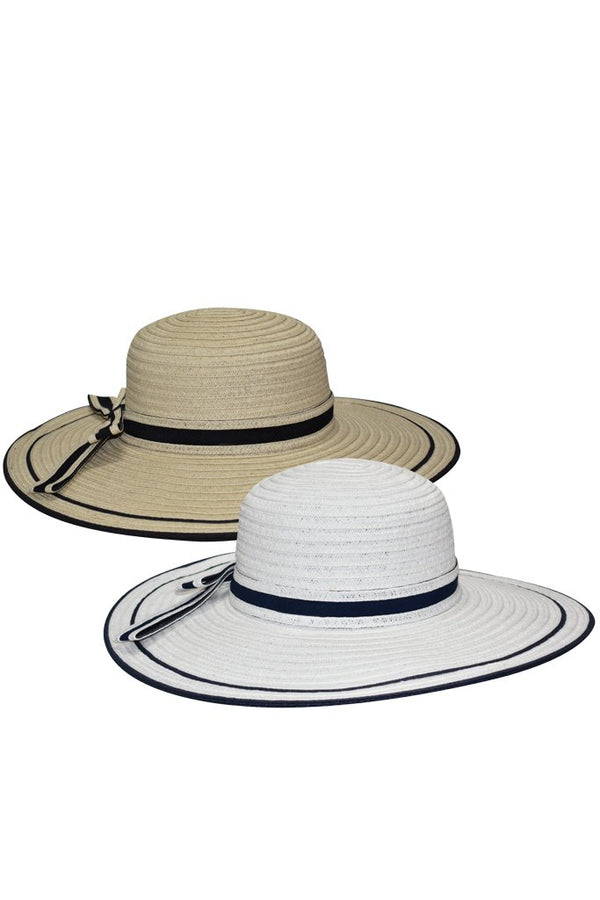 Moly Straw Beach Hat
