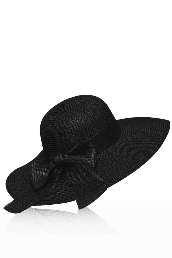 Arleen Straw Hat with Ribbon