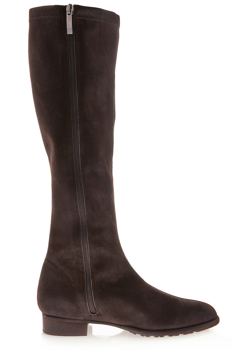 PAULINE Brown Leather Boots