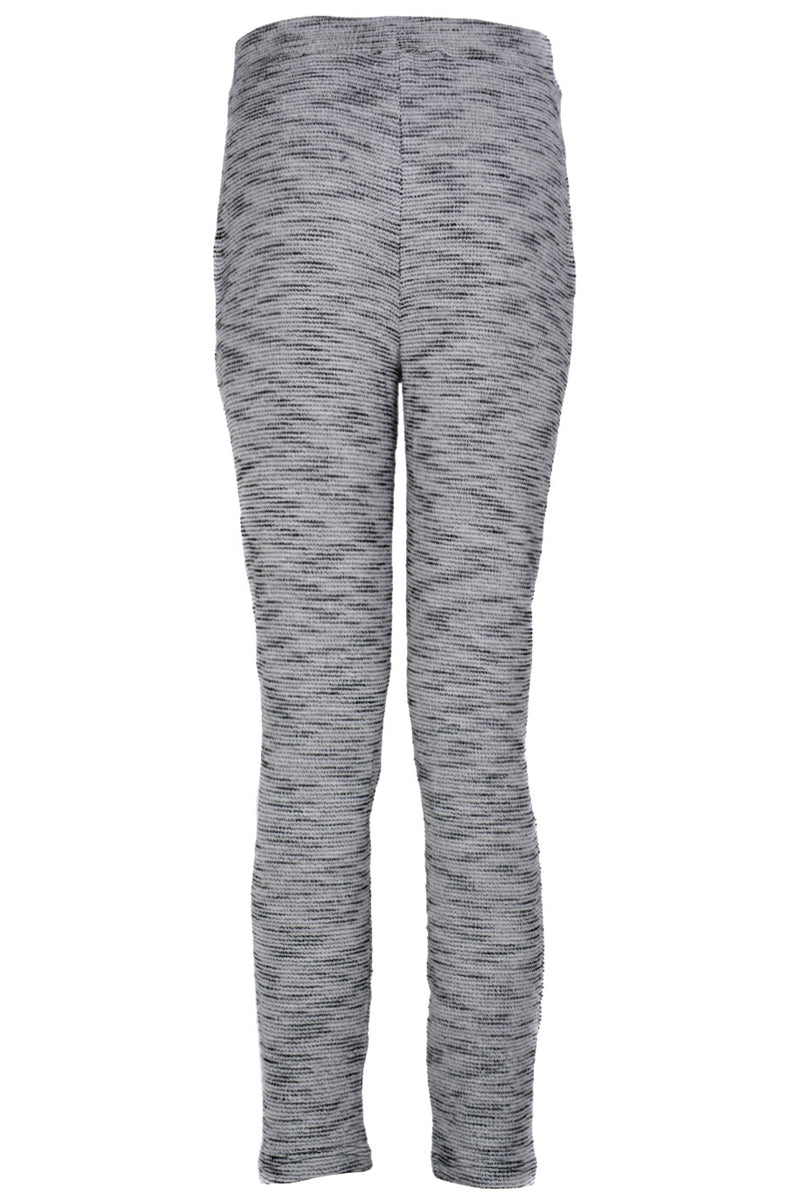 BELCA Black Grey Textured Joggers