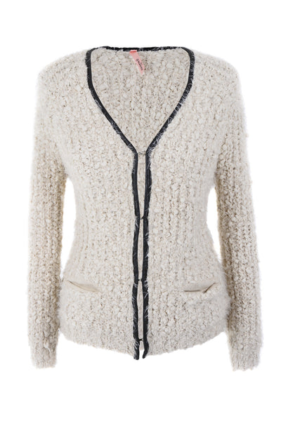 CUTIE Cream Fluffy Cardigan