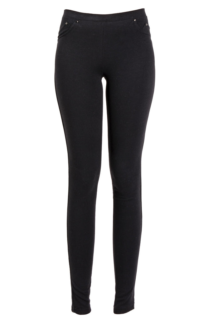 JAJA Black Jersey Leggings