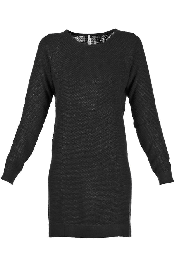 MARILLA Black Knitted Dress