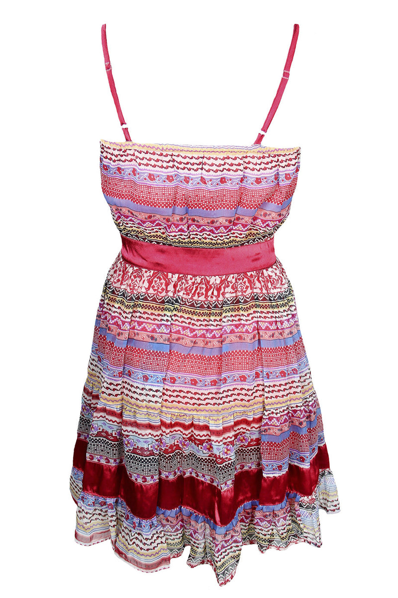 ESHA Multicolor Strap Dress
