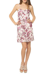 TANTRA VOLANTE Pink Patterned Dress