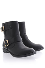 ANDRIE Black Ankle Boots