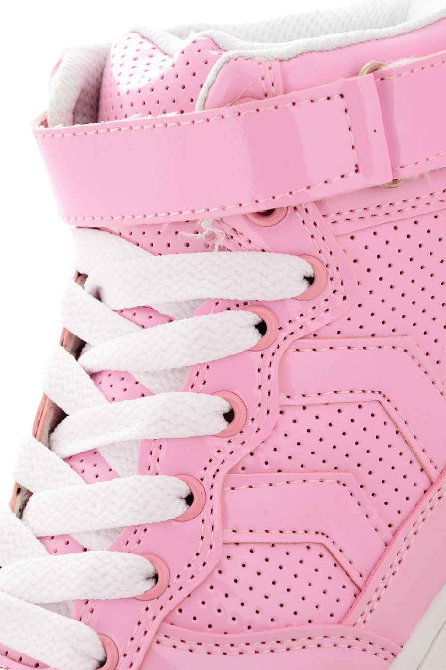 Timeless Freddie Pink Patent Sneakers Pret A Beaute Com