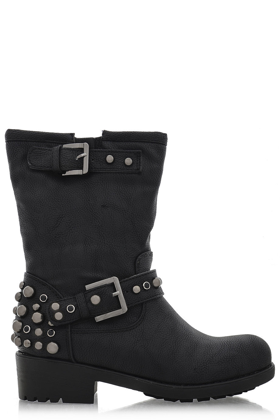 running shoes separation shoes great quality TIMELESS IVONA Black Studded Women Ankle Boots – Pret-A-Beaute