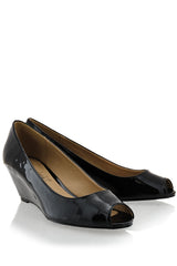 KATRINA Black Low Wedges
