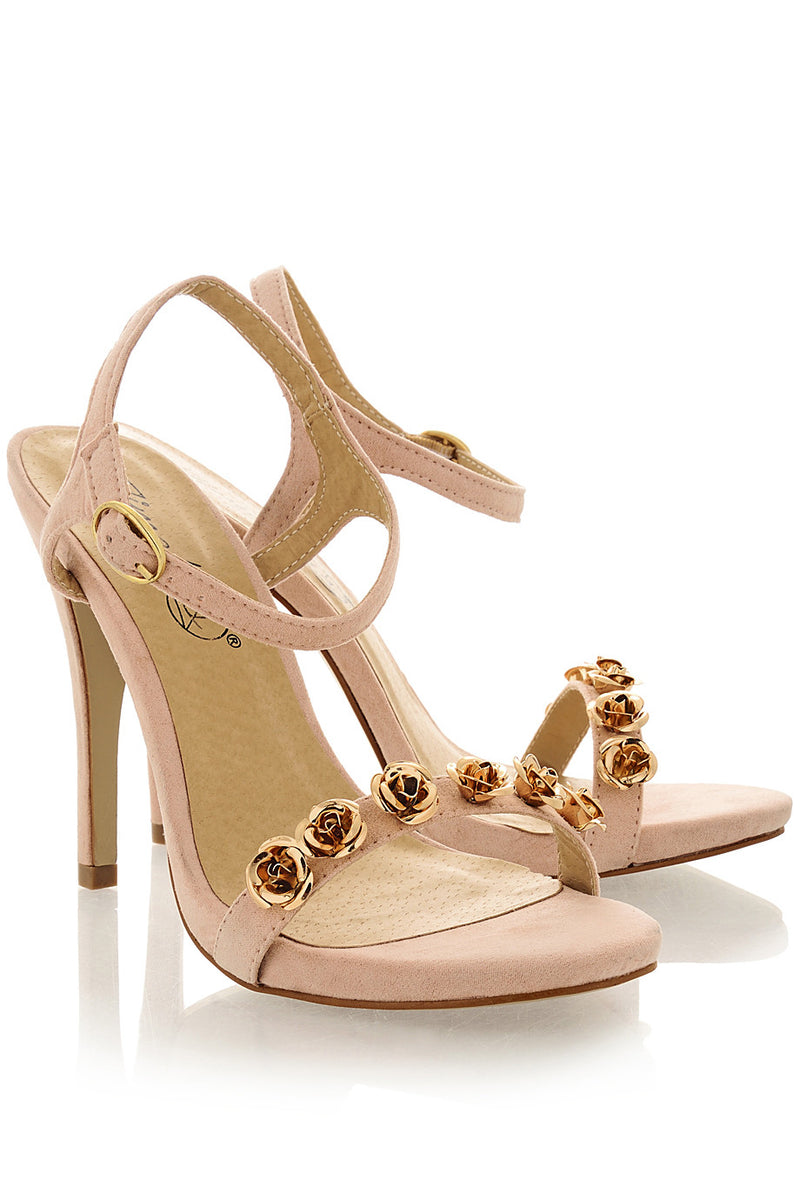 KONSTANZE Nude Sandals