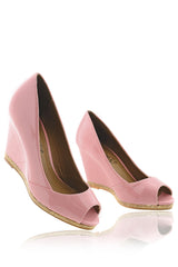MANDY Pink Wedges
