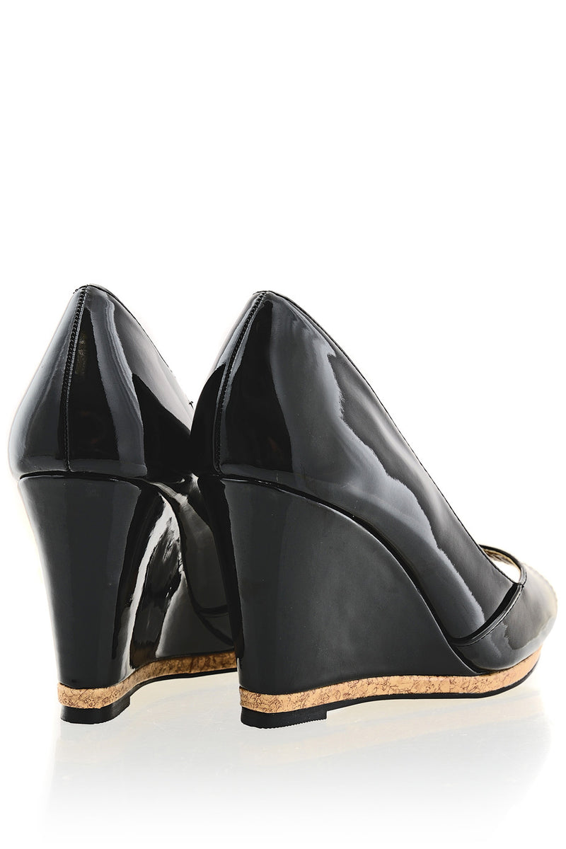 MANDY Black Wedges