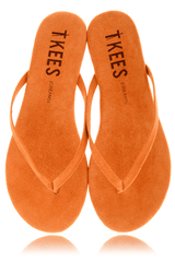 CREAMS Apricot Suede Thong Sandals