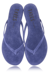 CREAMS Blue Bird Suede Thong Sandals