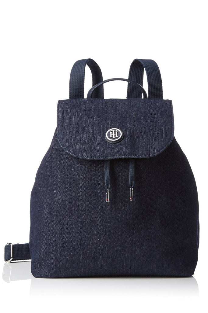TOMMY HILFINGER POPPY Blue Jeans Backpack