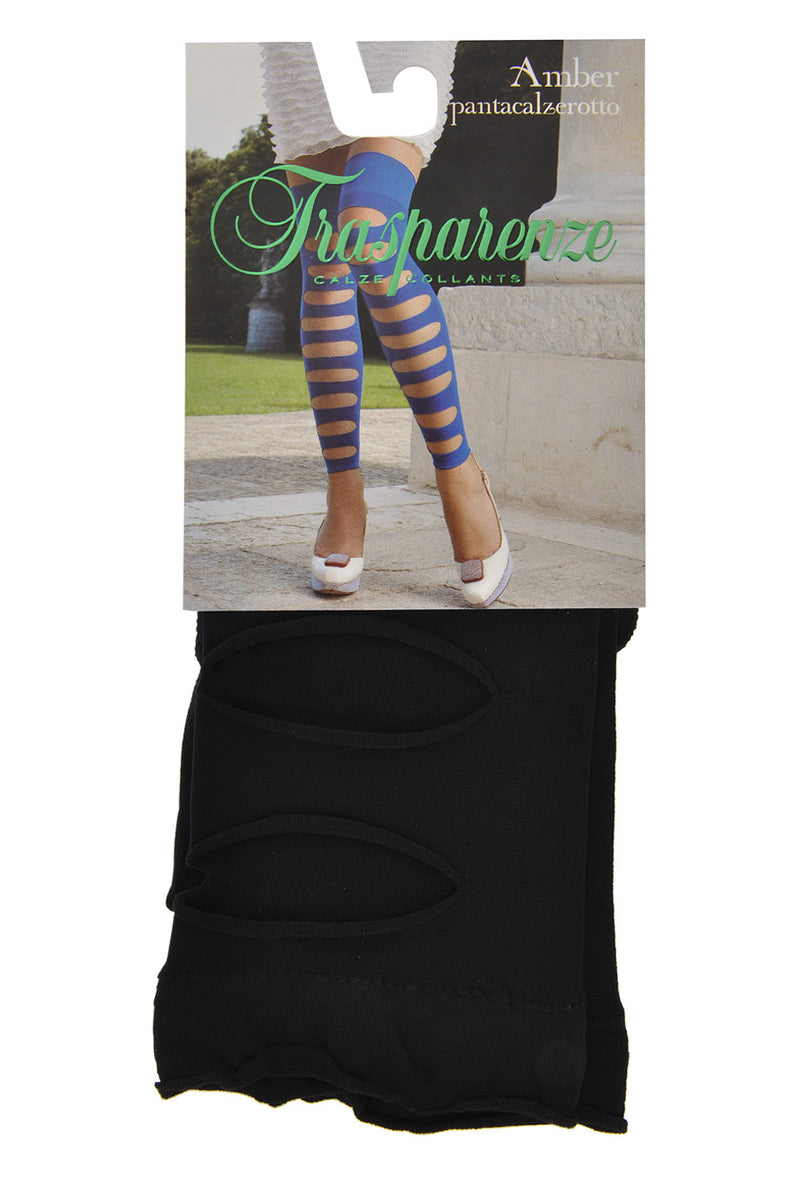 AMBER Cutout Socks Electric Blue