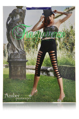 TRASPARENZE AMBER Leggings Black