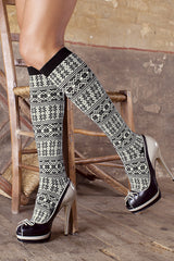 TRASPARENZE AZERBAIJAN Black Socks