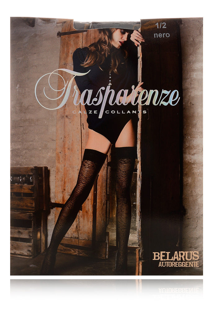 BELARUS Lace Hold Ups