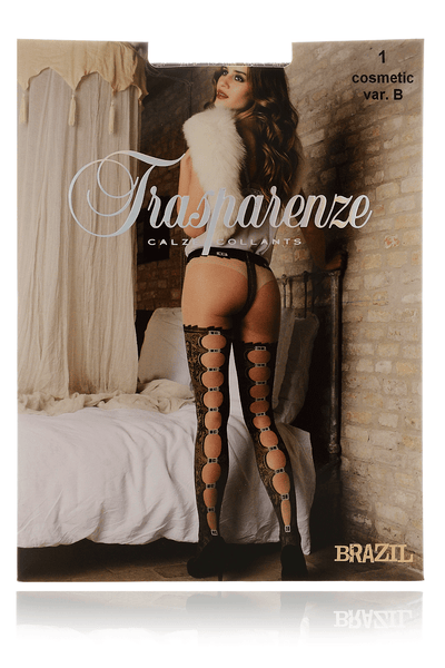 TRASPARENZE BRAZIL Buckle Garter Tights