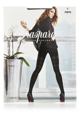 TRASPARENZE LATVIA Black Rhombus Tights