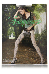 CHELSEA Ribbon Tights Black