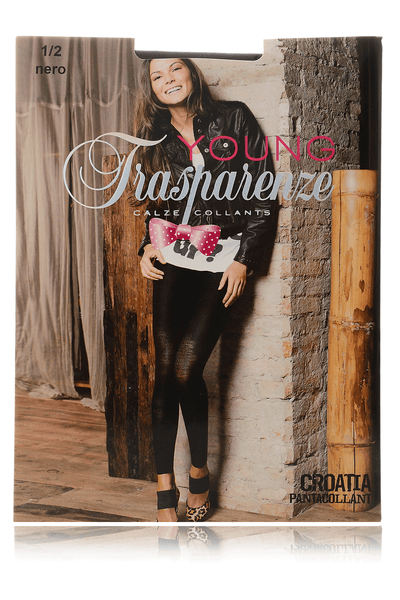 TRASPARENZE CROATIA Black Used Leggings